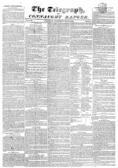Connaught Telegraph 01-May-1839 - on Irish Newspapers