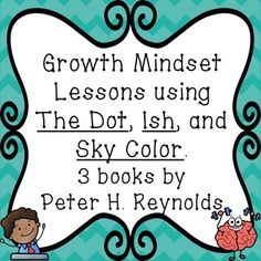 When you are teaching students about growth mindset, I believe it is vital to use stories they can relate to. If they are seeing other characters showing both a growth mindset and a fixed mindset, they will be more likely to understand what each look like.