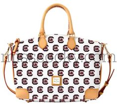 Yes...PLEASE?!?! University of South Carolina Dooney& Bourke Satchel - Miss Cocky
