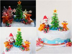 Christmas- Santa Claus Cake (from fb: Hannover ChipChap Cake) Santa, Facebook, Mini, Cake, Desserts, Christmas, Food, Tailgate Desserts, Xmas