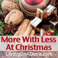 You can have a simple Christmas without the stress people usually experience. Use these tips and learn how to have less stress and more fun at Christmas!
