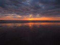 Flaming Sunset, Guanacaste, Costa Rica