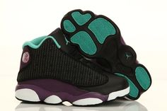 Big Kids Jordan Shoes Kids Air Jordan 13 GS Grape  Kids Air Jordan 13 - Kids  Air Jordan 13 GS Grape here features a mixture of black ee512acbaf966