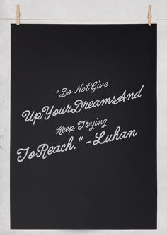 EXO QUOTES - LUHAN