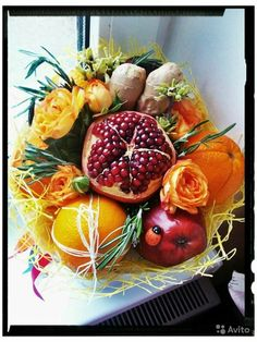 Special Flowers, Flowers For You, Fruit Box, Fruit And Veg, Fruit Flowers, Paper Flowers, Chocolate Bouquet Diy, Vegetable Bouquet, Food Bouquet