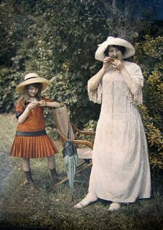 summer day, 1910's ...