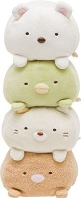 "San-x Sumikko Gurashi Super Squishy Plush 6"" Polar-bear"