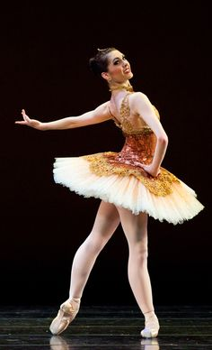"Ballet West's Beckanne Sisk in ""Paquita."" Photo by Luke Isley."