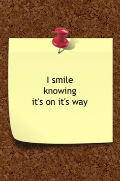 people who smile to themselves KNOW that there is more out there and within themselves. #OnitsWay!