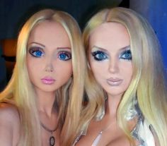 Valeria Lukyanova Real-life Barbie Before and After Cosmetic Surgery (Images)
