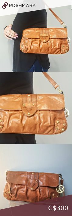 Valentino Fortuna Shoulder Bag in Tan Leather Shoulder Bags, Shoulder Strap, Valentino Purse, Plus Fashion, Fashion Tips, Fashion Trends, Brass Hardware, Tan Leather, Solid Brass