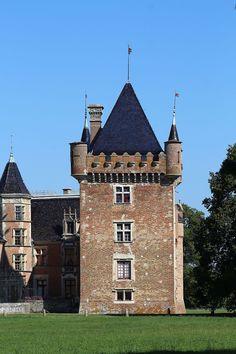 Château Loriol .Confrançon . Rhône-Alpes