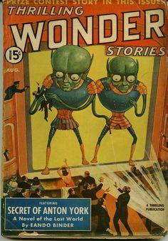 Thrilling Wonder Stories – (August 1940) | Flickr - Photo Sharing!