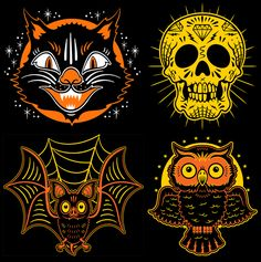 Vintage Halloween Masks...