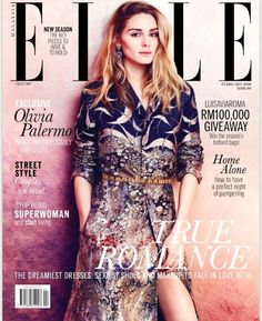 The Olivia Palermo Lookbook : Olivia Palermo for ELLE Malaysia February 2016