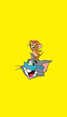 Mickey Mouse Wallpaper, Cartoon Wallpaper Iphone, Homescreen Wallpaper, Cute Cartoon Wallpapers, Disney Wallpaper, Disney Toms, Walt Disney, Tom And Jerry Hd, Desenho Tom E Jerry
