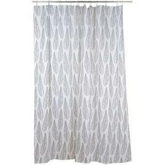 DUSCHDRAPERI BLAD Curtains, Shower, Bathroom, Prints, Design, Rain Shower Heads, Washroom, Blinds, Bathrooms
