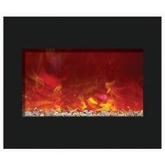 "Amantii 30"" Zero Clearance Electric Fireplace"