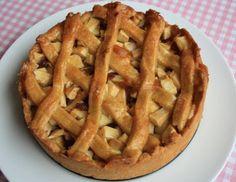 Apple Pie, no sugar Good Healthy Recipes, Healthy Sweets, Healthy Baking, Sugar Free Baking, Sugar Free Recipes, I Love Food, Good Food, Yummy Food, Thanksgiving Desserts