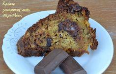 Γιατί η σοκολάτα φτιάχνει κάπως τη διάθεση…   Για τις κρητικέςμπανάνες σας έχω ξαναμιλήσει. Παράγονται κυρίως στην Άρβη αλλά τα τελευταία χρόνια και σε άλλες περιοχές της Κρήτης. Πολύ αρωματικές, αλλά αρκετά μικρότερες από τις εισαγόμενες . Αν τις βρείτε κάπου οι εκτός Κρήτης δοκιμάστε τις.   Οι … Banana Bread, Food And Drink, Sweet, Desserts, Cakes, Candy, Tailgate Desserts, Deserts, Cake Makers
