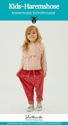 Kids-Haremshose – Schnittmuster Datenbank clothing for kids diy projects Kids-Haremshose Baby Clothes Storage, Baby Clothes Quilt, Sewing Baby Clothes, Designer Baby Clothes, Knitted Baby Clothes, Baby Clothes Patterns, Cute Baby Clothes, Baby Sewing, Clothes For Kids