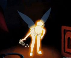 Tinkerbell Peter Pan Movie | my gif gif film disney vintage peter pan tinkerbell tinker bell
