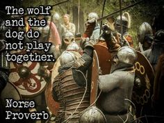 """""""THE WOLF AND THE DOG DO NOT PLAY TOGETHER""""... Neither do pagans with judeo-christian-islamists, and their naturate hating god!!!"""