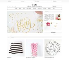 Why is this called the Fun WordPress Theme? Because it's FUN and easy to get setup and move things around to make it your own.  This theme keeps you from banging your head against the desk, and allows you to spend that time playing with the many features it has to offer. $99.95