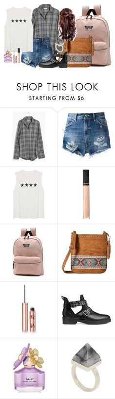 """Sammi McCall"" by samtiritilli ❤ liked on Polyvore featuring Madewell, Dondup, Revlon, Vans, M&F Western, Charlotte Tilbury, Marc Jacobs and Kelly Wearstler"