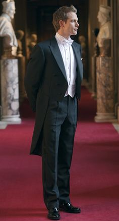 Black Evening Tailcoat