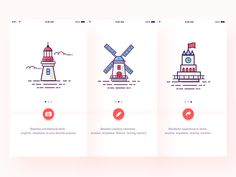 Simple Guide page design by luking - Dribbble