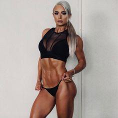 Lauren Simpson, female fitness models