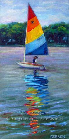waterscape Susan Gersch Supanich via Etsy