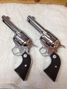 My Ruger SASS Vaqueros in .357 Magnum