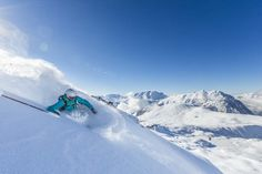 Off-Piste Skiing in Alpe d'Huez