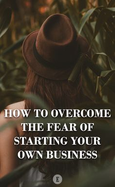 The fear of failure is at the very top of the totem pole. Creating A Business, Starting Your Own Business, Start Up Business, Business Planning, Business Tips, Online Business, Digital Marketing Strategist, Leadership Tips, Be Your Own Boss