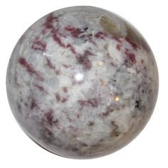 Tourmaline Ball Rubellite 01 Pink Red Raspberry Gemstones Sphere Love Energy Healing Orb Stone 2""