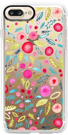 Casetify iPhone 7 Plus Case and iPhone 7 Cases. Other Berries iPhone Covers - Leaves and Berries by Nic Squirrell | Casetify