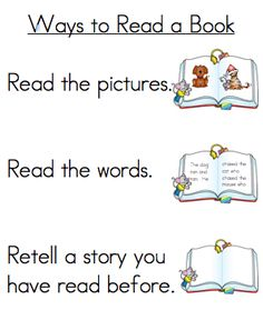 Three Ways to Read a Book - A Teeny Tiny Teacher