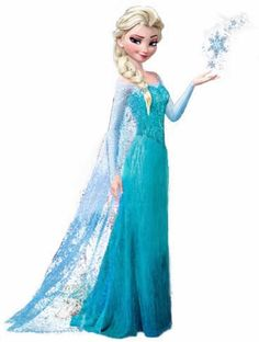 ELSA the SNOW QUEEN from Frozen Inspired by CuteandSimpleDesigns, $65.00