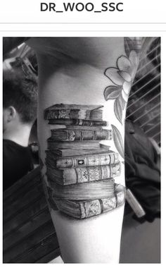 Dr. Woo of Shamrock Social Club One of the best literary tattoos I've seen.
