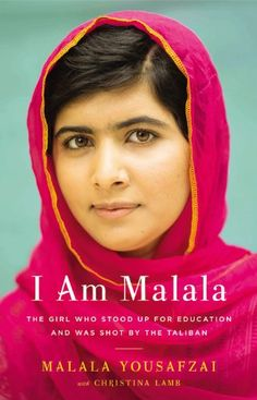 I Am Malala: The Girl Who Stood Up for Education and Was Shot by the Taliban by Malala Yousafzai #Books #Inspiration #Girls #Education #Womens_Rights