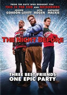 The Night Before: Available on DVD and Bluray