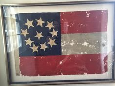Exceptional Confederate First National flag linked to 12th Va Inf. Co A