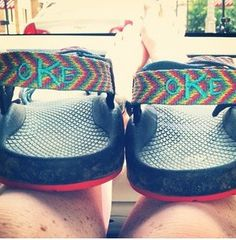 Monogrammed chacos. Now these I would most definitely wear