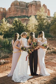 703558a95818 2362 Best Real Arizona Weddings images in 2019