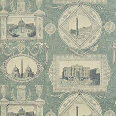Sanderson Vue D'Italie Wallpaper DEGTVI103 Designer Fabrics and Wallpapers by Sanderson, Harlequin, Morris, Osborne, Little And many more