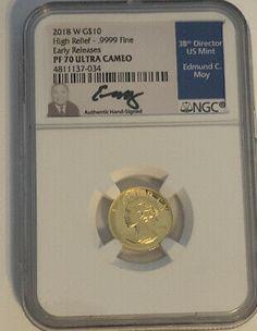 2011 Australia $1 Silver NGC PF69 UC  High Relief 1oz Coin
