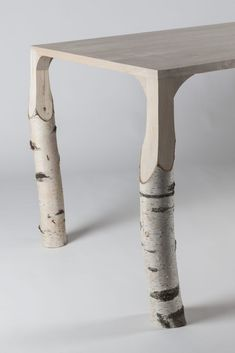 Unique Furniture, Wood Furniture, Furniture Design, Rustic Design, Wood Design, Table Lamp Wood, Into The Woods, Diy Wood Projects, Wood Art