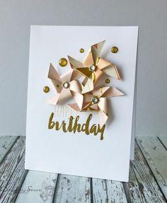 Birthday Pinwheels Card by Simone N -FS478 at Splitcoaststampers